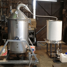 Large-scale and custom-made distiller: Manufactured only for your company!